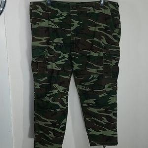 """Pants cargo denim Camouflage Field 32"""" inseam"""
